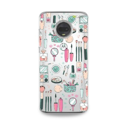 Capa para Moto G7 - Make Up
