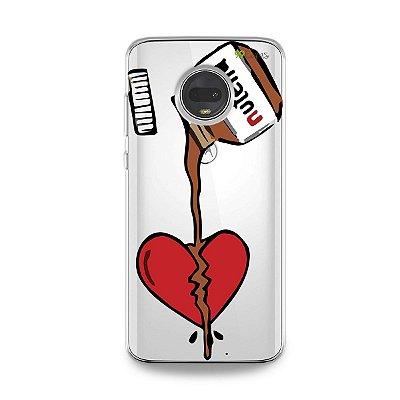 Capa para Moto G7 - Nutella
