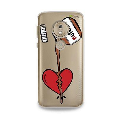 Capa para Moto G7 Play - Nutella