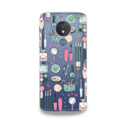 Capa para Moto G7 Power - Make Up