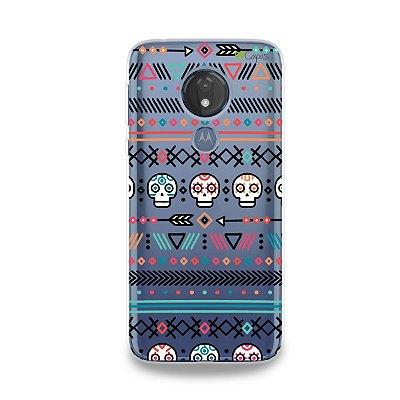 Capa para Moto G7 Power - Tribal