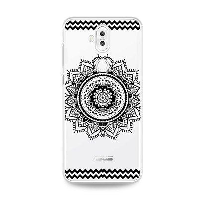 Capa para Zenfone 5 Selfie Pro - Mandala Preta