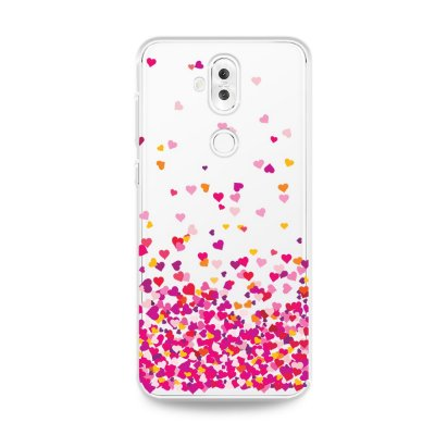 Capa para Zenfone 5 Selfie Pro - Corações Rosa