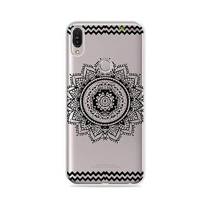 Capa para Zenfone Max Pro - Mandala Preta