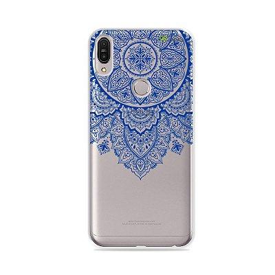 Capa para Zenfone Max Pro - Mandala Azul