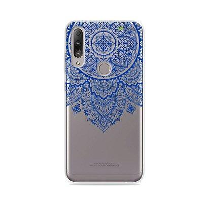Capa para Zenfone Max Shot - Mandala Azul