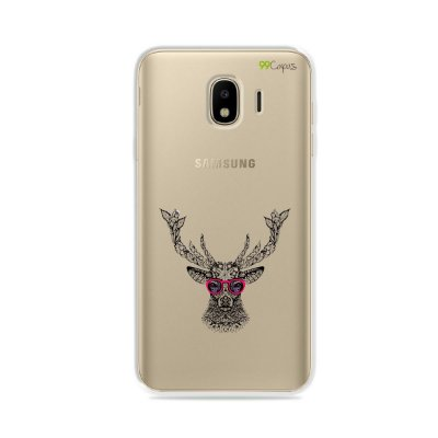 Capa para Galaxy J4 2018 - Alce Hipster
