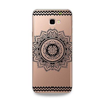 Capa para Galaxy J4 Plus - Mandala Preta