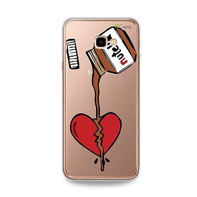 Capa para Galaxy J4 Plus - Nutella