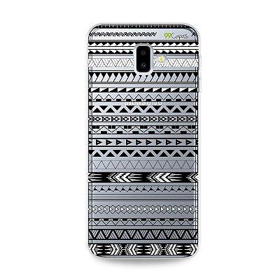 Capa para Galaxy J6 Plus - Maori Branca