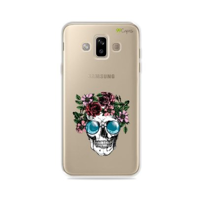 Capa para Galaxy J7 Duo - Caveira