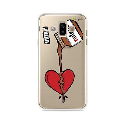 Capa para Galaxy J7 Duo - Nutella