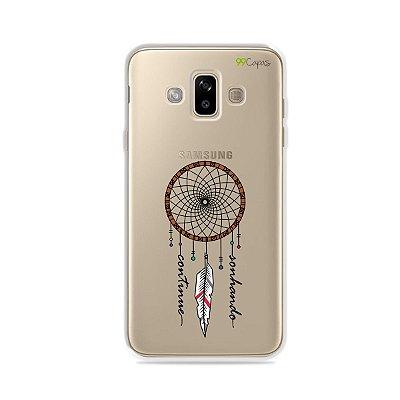 Capa para Galaxy J7 Duo - Continue Sonhando
