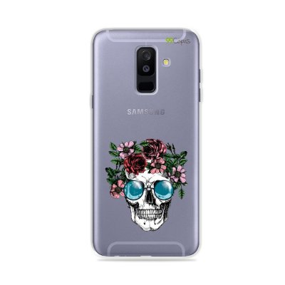 Capa para Galaxy A6 Plus - Caveira