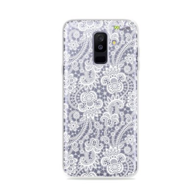 Capa para Galaxy A6 Plus - Rendada