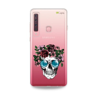 Capa para Galaxy A9 2018 - Caveira