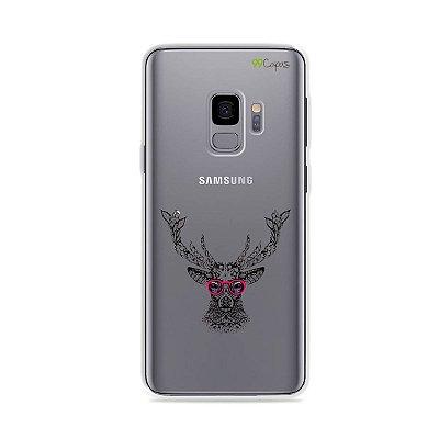 Capa para Galaxy S9 - Alce Hipster