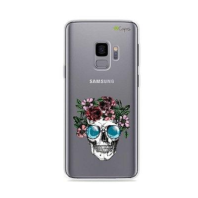 Capa para Galaxy S9 - Caveira