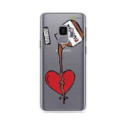 Capa para Galaxy S9 - Nutella