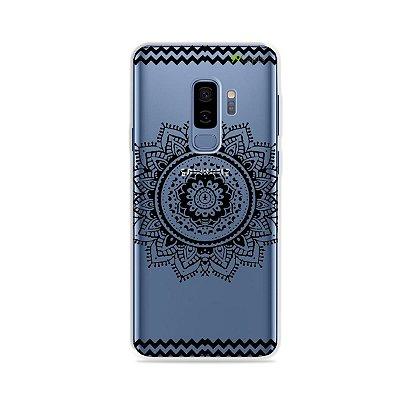 Capa para Galaxy S9 Plus - Mandala Preta