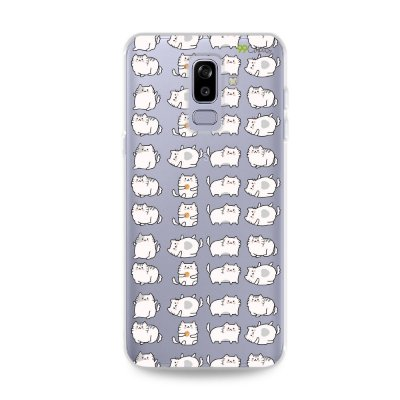Capa para Galaxy J8 - Lazy Cat