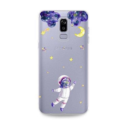 Capa para Galaxy J8 - Astronauta Sonhador