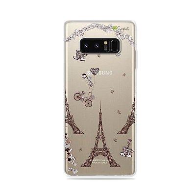 Capa para Galaxy Note 8 - Paris