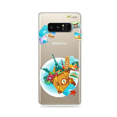 Capa para Galaxy Note 8 - Memórias