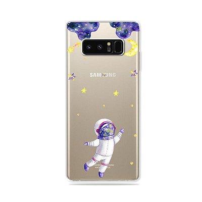 Capa para Galaxy Note 8 - Astronauta Sonhador