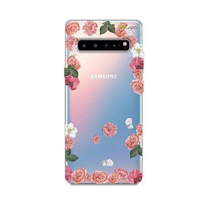 Capa para Samsung Galaxy S10 - Pink Roses