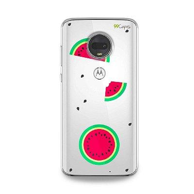 Capa para Moto G7 - Melancias