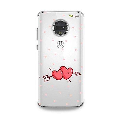 Capa para Moto G7 - In Love