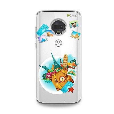 Capa para Moto G7 - Memórias