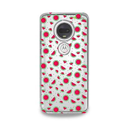 Capa para Moto G7 Plus - Mini Melancias
