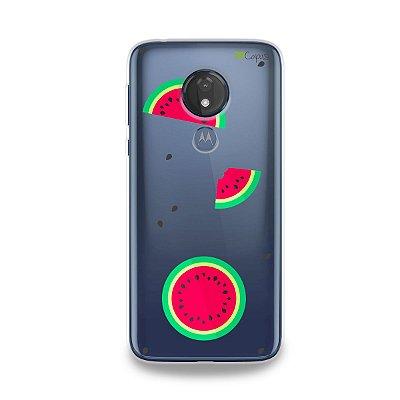 Capa para Moto G7 Power - Melancias