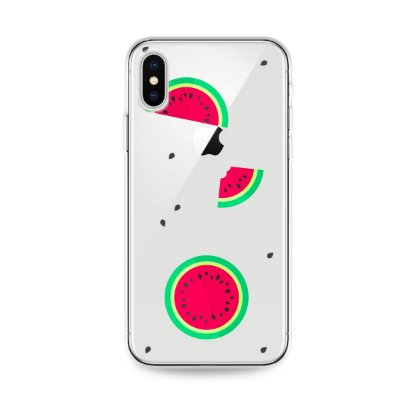 Capa para iPhone X/XS - Melancias