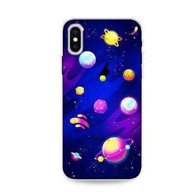 Capa para iPhone X/XS - Galáxia