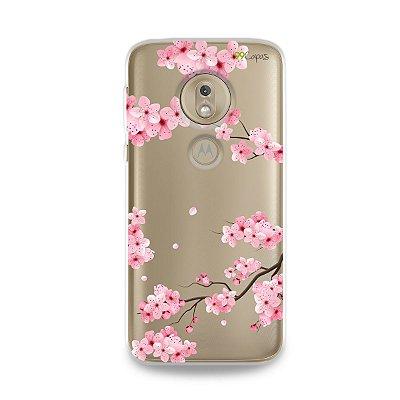 Capa para Moto G7 Play - Cerejeiras