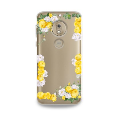 Capa para Moto G7 Play - Yellow Roses