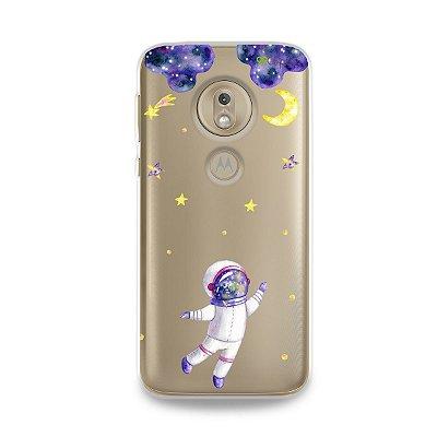 Capa para Moto G7 Play - Astronauta Sonhador