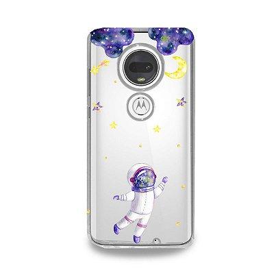 Capa para Moto G7 Plus - Astronauta Sonhador