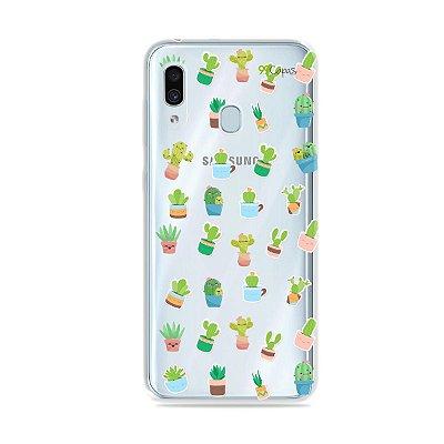 Capa para Galaxy A30 - Cactus