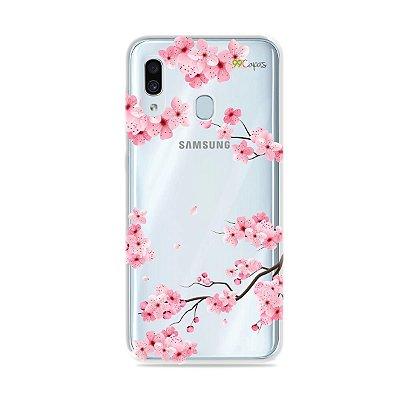 Capa para Galaxy A30 - Cerejeiras