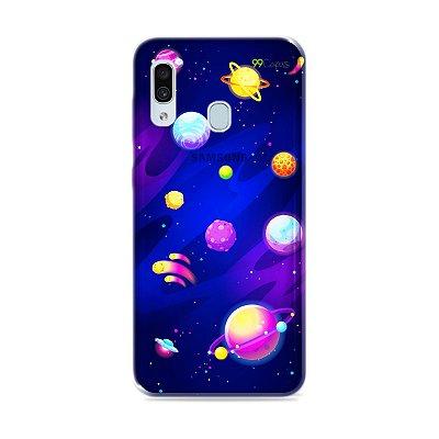 Capa para Galaxy A30 - Galáxia
