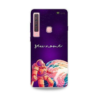 Capa Selfie Galáctica com nome personalizado - 99Capas
