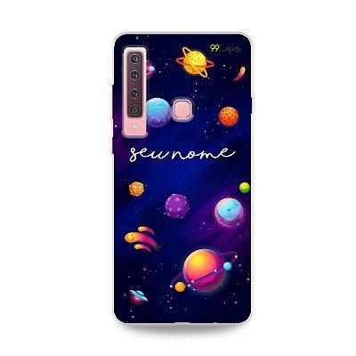 Capa Galáxia com nome personalizado - 99Capas