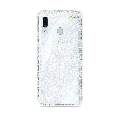 Capa para Galaxy A30 - Rendada