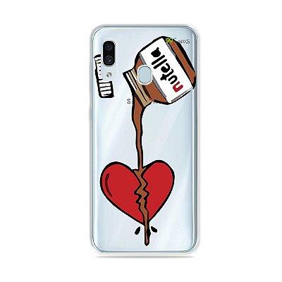 Capa para Galaxy A30 - Nutella