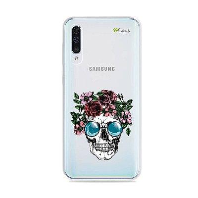 Capa para Galaxy A50 - Caveira