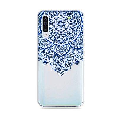 Capa para Galaxy A50 - Mandala Azul
